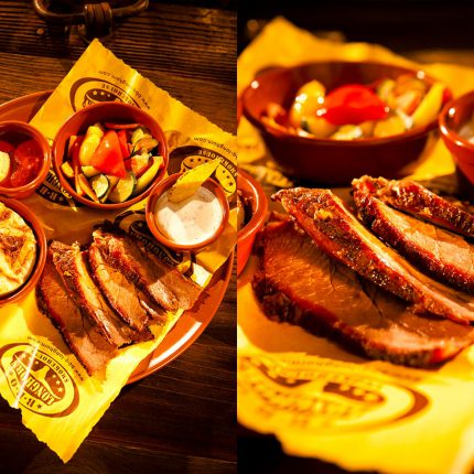 BBQ Longhorn Smokehouse – Speise