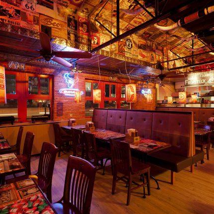 BBQ Longhorn Smokehouse – Einrichtung