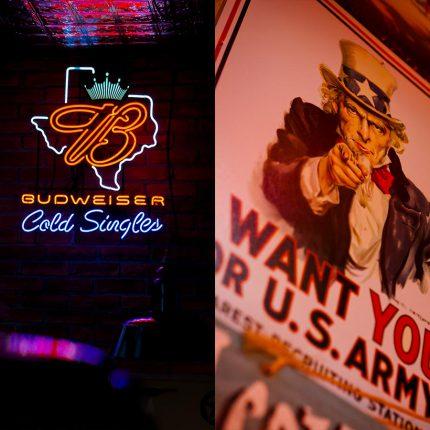 BBQ Longhorn Smokehouse – Schilder